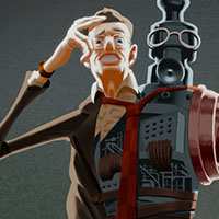 Paul Steuer Character Concept