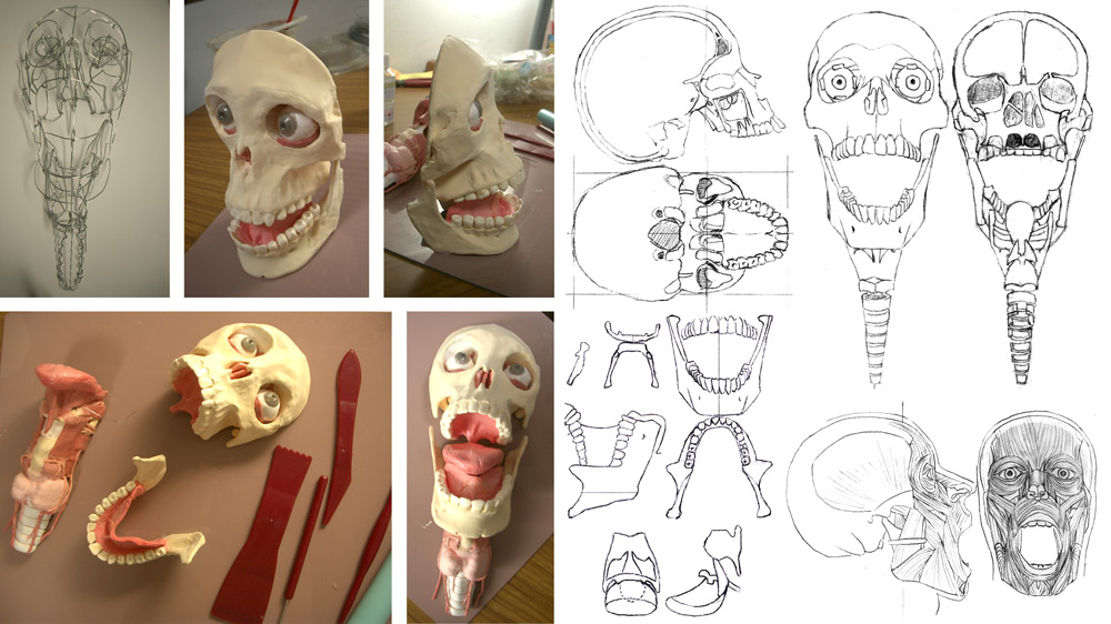 SkullSculpture_Process